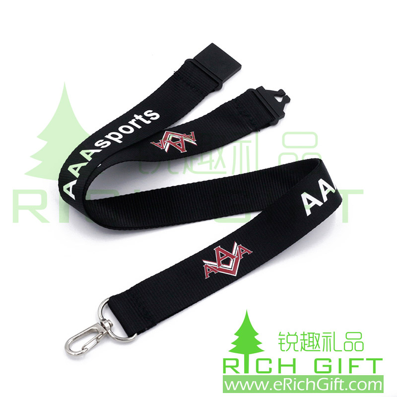 CUSTOM FLAT LANYARD FOR AAASPORTS