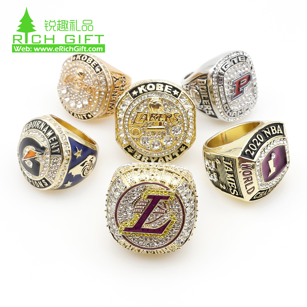 cheap custom championship rings for different sports teams custom alloy sports rings with wholesale price