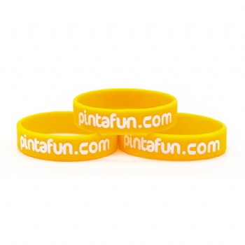 2016 Custom Colorful silicone wristbands for promotional gifts