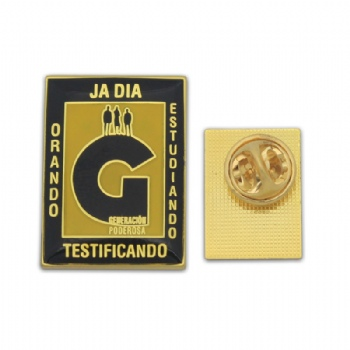 Custom exquisite lapel pins with gold plating