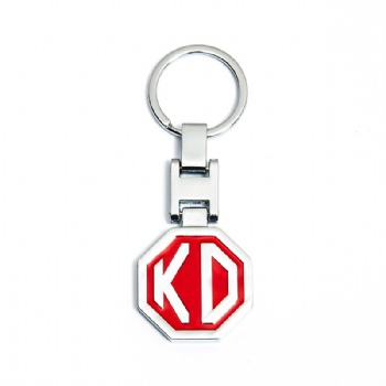 Fashionable Metal Keychain with Custom Logo