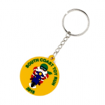 Custom 2D PVC Keychain for South Coast Toy Run