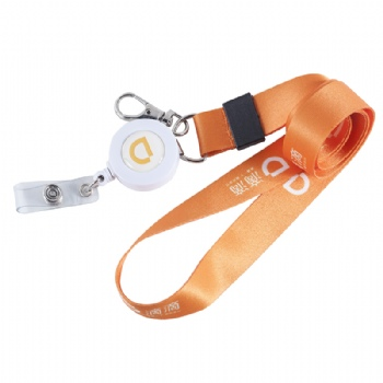 Custom dye sublimation printed Lanyard for Didi Taxi