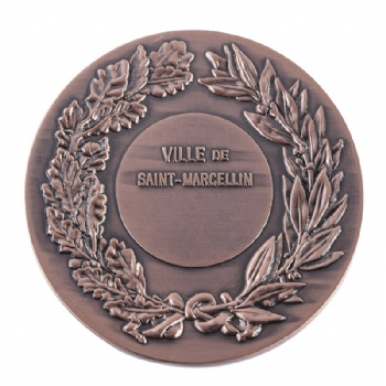 custom 3D special antique-copper challenge coin