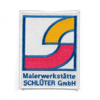 Customize Fancy Embroidery Patch for Malerwerkstatte Schloter Gmbh