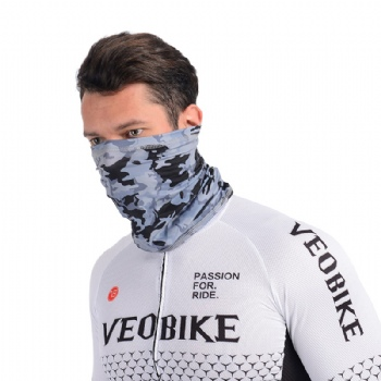 Men's Bandana Fabric Face Mask Stock Washable Balaclava Neck Scarf Dust Wind Motorcycle Mask Men Outdoor