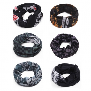 Bandanas, Bandanas Multifunction Colored Cycling Headband Neckerchief Handkerchief for Men Women Hip-Hop