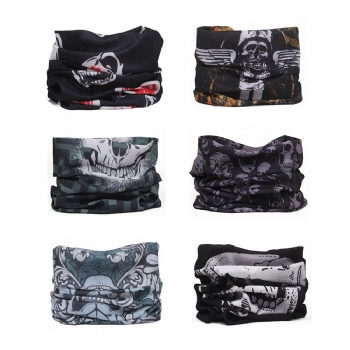 Camo Bandana Face Mask Multifunctional UV Neck Gaiters Seamless Headband Headwear Scarf for Sport & Outdoor