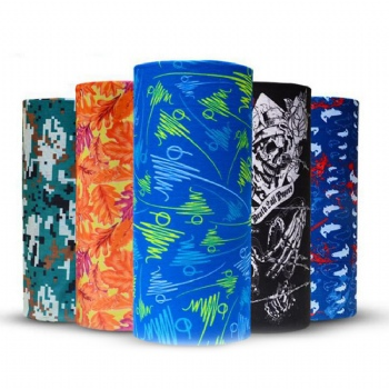 Headwear,Bandanas Headwrap Headband Magic Scarf seamless UV protection cap Multi-function Stretchable Cap Neck Tube Scarf Face Mask Headband Under Helmet