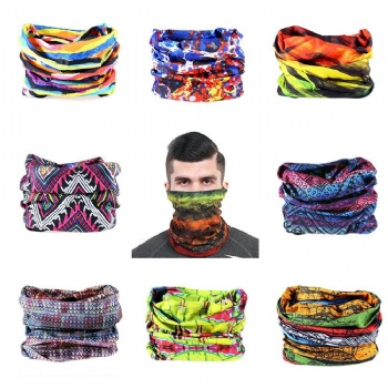 Neck Protection Against The Sun's Ultraviolet Seamlessly Scarf Outdoor Sports Riding is prevented bask in mask Bandana for Men