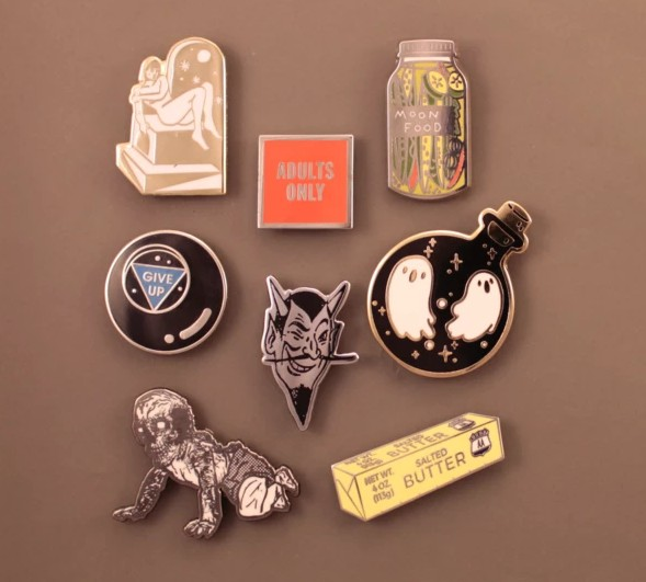 hard enamel pins